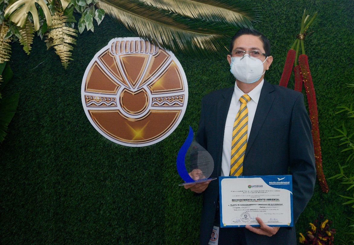 Duragas Abastible recibe reconocimiento al mérito ambiental