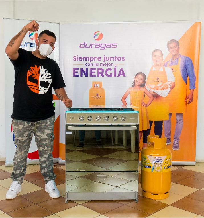 """Ganadores del primer sorteo de """"Siempre juntos, con la mejor energía"""", Duragas Abastible Ecuador"""